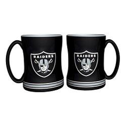 Boelter Brands Oakland Raiders 14 oz. Relief Mugs 2-Pack