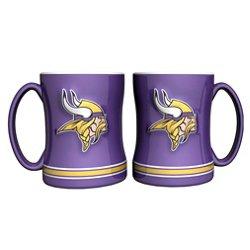 Boelter Brands Minnesota Vikings 14 oz. Relief Mugs 2-Pack
