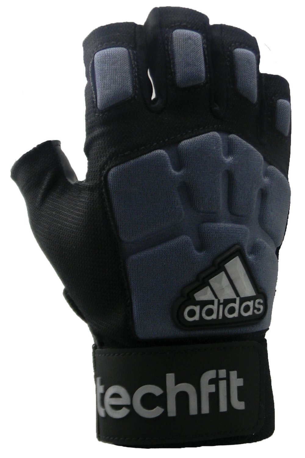 Display Product Reviews For Adidas Juniors Techfit 1 2 Finger Lineman Football Gloves