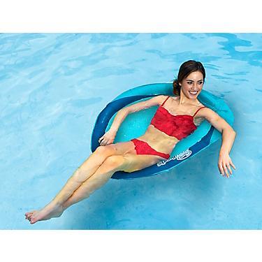 SwimWays Spring Float Papasan Floating Pool Chair