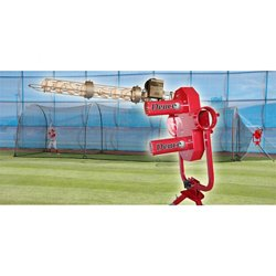 Deuce Pitching Machine and Xtender Batting Cage Combo