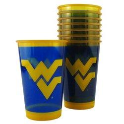 Boelter Brands West Virginia University 20 oz. Souvenir Cups 8-Pack