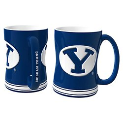 Brigham Young University 14 oz. Relief Mugs 2-Pack