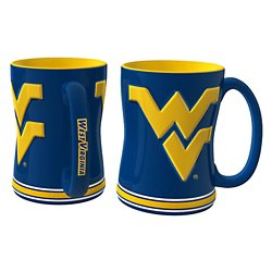 West Virginia University 14 oz. Relief Mugs 2-Pack
