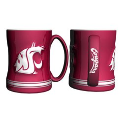 Washington State University 14 oz. Relief Mugs 2-Pack