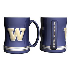 University of Washington 14 oz. Relief Mugs 2-Pack