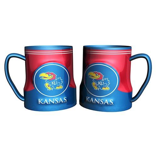 Boelter Brands University of Kansas Gametime 18 oz. Mugs 2-Pack