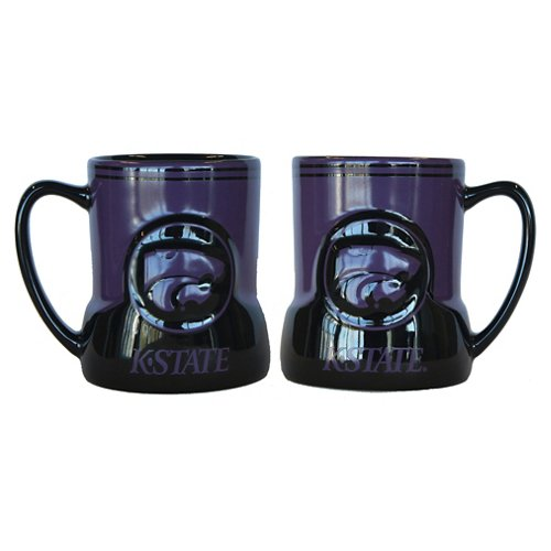Boelter Brands Kansas State University Gametime 18 oz. Mugs 2-Pack