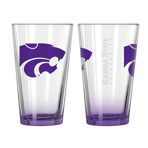 Boelter Brands Kansas State University Elite 16 oz. Pint Glasses 2-Pack