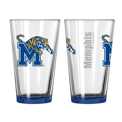 Boelter Brands University of Memphis Elite 16 oz. Pint Glasses 2-Pack