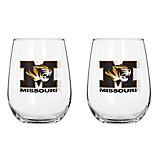 Boelter Brands University of Missouri 16 oz. Curved Beverage Glasses 2-Pack
