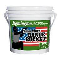 Remington UMC 9mm Brass 115-Grain Pistol Target Ammunition Bucket