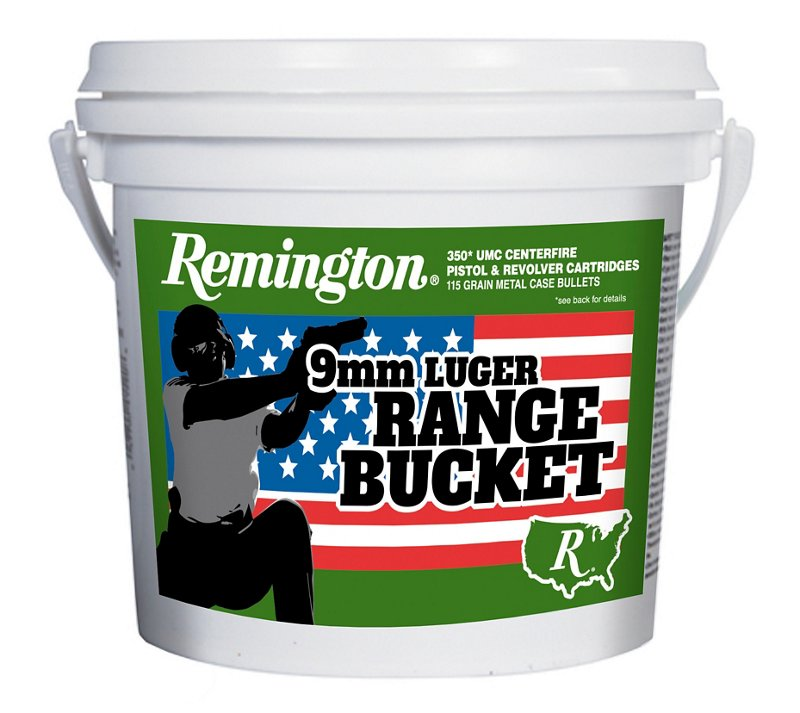 Remington UMC 9mm Brass 115-Grain Pistol Target Ammunition Bucket – Pistol Shells at Academy Sports