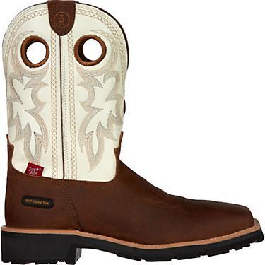 58727de10db Tony Lama Men's Cheyenne 3R EH Composite Toe Wellington Work Boots Boots