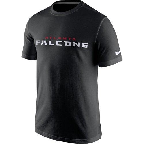 Nike Men's Atlanta Falcons Cotton Essential Wordmark T-shirt