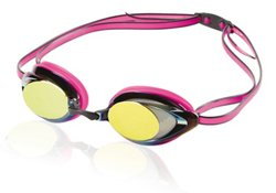 Speedo Women's Vanquisher 2.0 Mirrored Swim Goggles