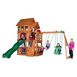 Backyard Discovery™ Liberty II Wooden Swing Set