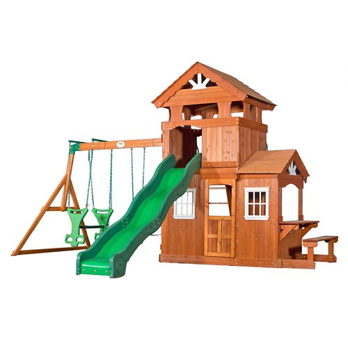 Backyard Discovery™ Shenandoah Wooden Swing Set