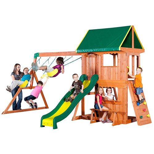 Backyard Discovery™ Somerset Wooden Swing Set