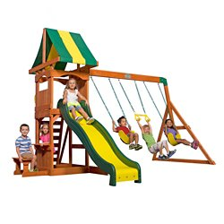 Backyard Discovery™ Weston Wooden Swing Set