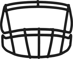 Riddell S2BD Football Face Mask