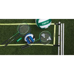 Superior™ Badminton and Volleyball Combo Set