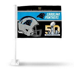 Rico Carolina Panthers NFC Champion Car Flag