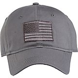 a42a2649 Academy Sports + Outdoors Men's Tonal American Flag Solid Twill Hat