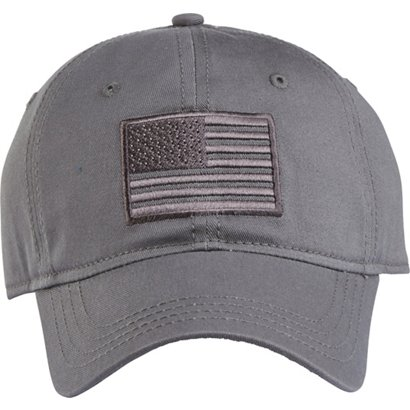 9c8d5025 Academy Sports + Outdoors Men's Tonal American Flag Solid Twill Hat ...