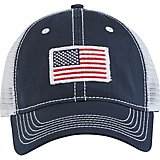 018b09ea84f Academy Sports + Outdoors Men s American Flag Trucker Hat