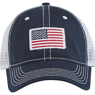 3f49af828c2b Academy Sports + Outdoors Men's American Flag Trucker Hat | Academy