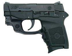 Smith & Wesson M&P Bodyguard 380 Crimson Trace Green Laserguard .380 Pistol