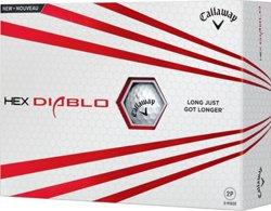 Callaway Hex Diablo 16 Golf Balls 12-Pack