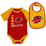 Colosseum Athletics Infants' Lamar University Rookie Onesie and Bib Set