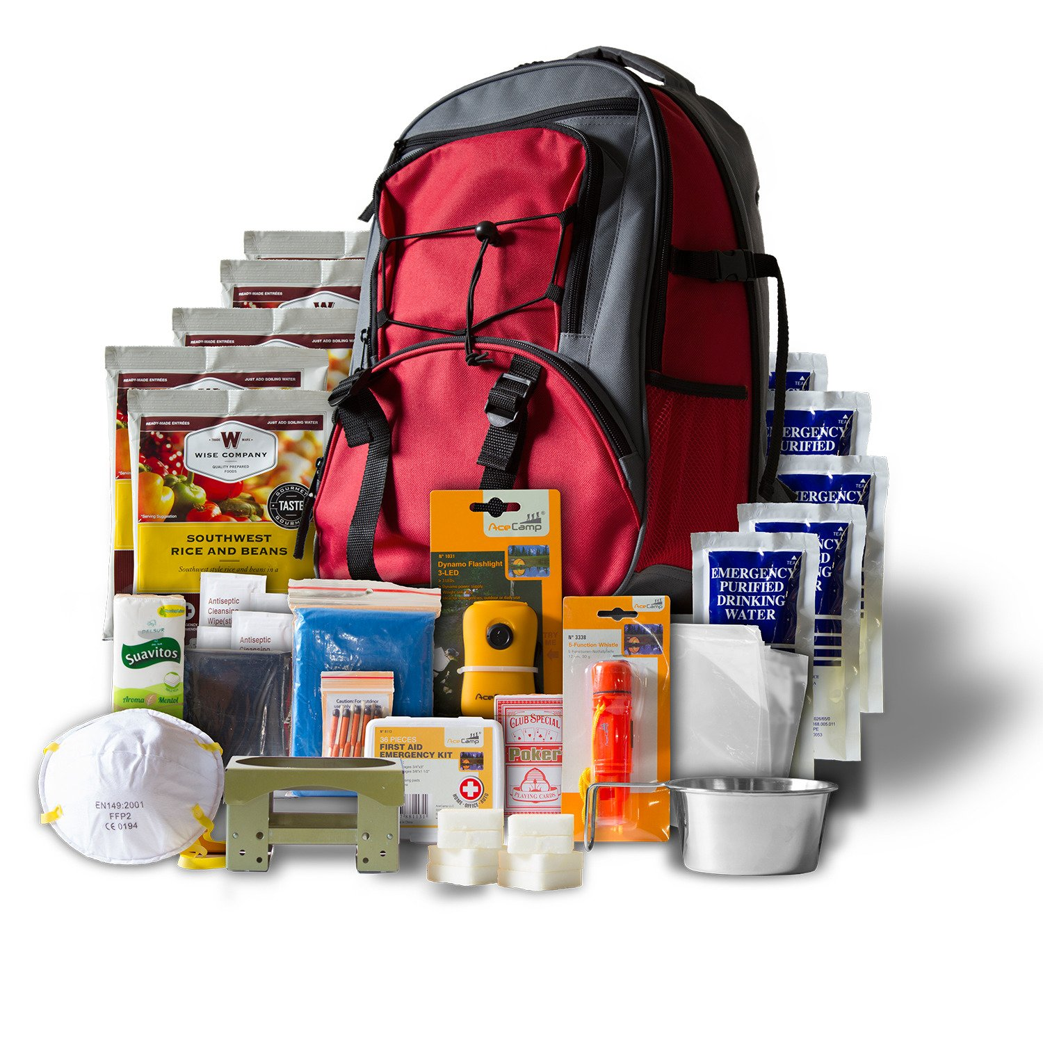 Wise 5-Day Emergency Survival 1-Person First Aid Kit