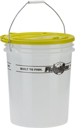 Flambeau Bait Storage 5-Gallon Bait Bucket Kit