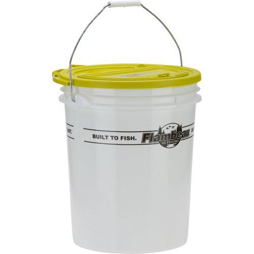 Flambeau Bait Storage 5-Gallon Bait Bucket Kit