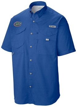 Columbia Sportswear Men's Florida Gators Tamiami Fishing Shirt