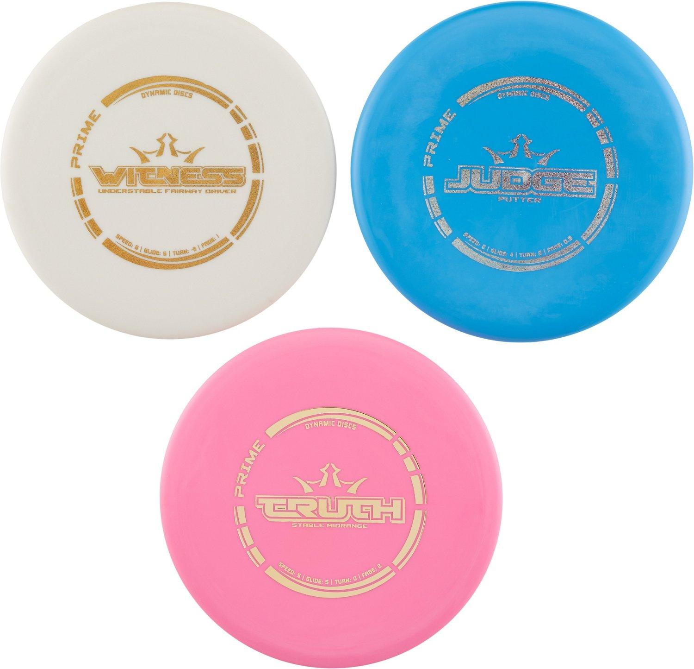 Dynamic Discs Prime Disc Golf Start Set