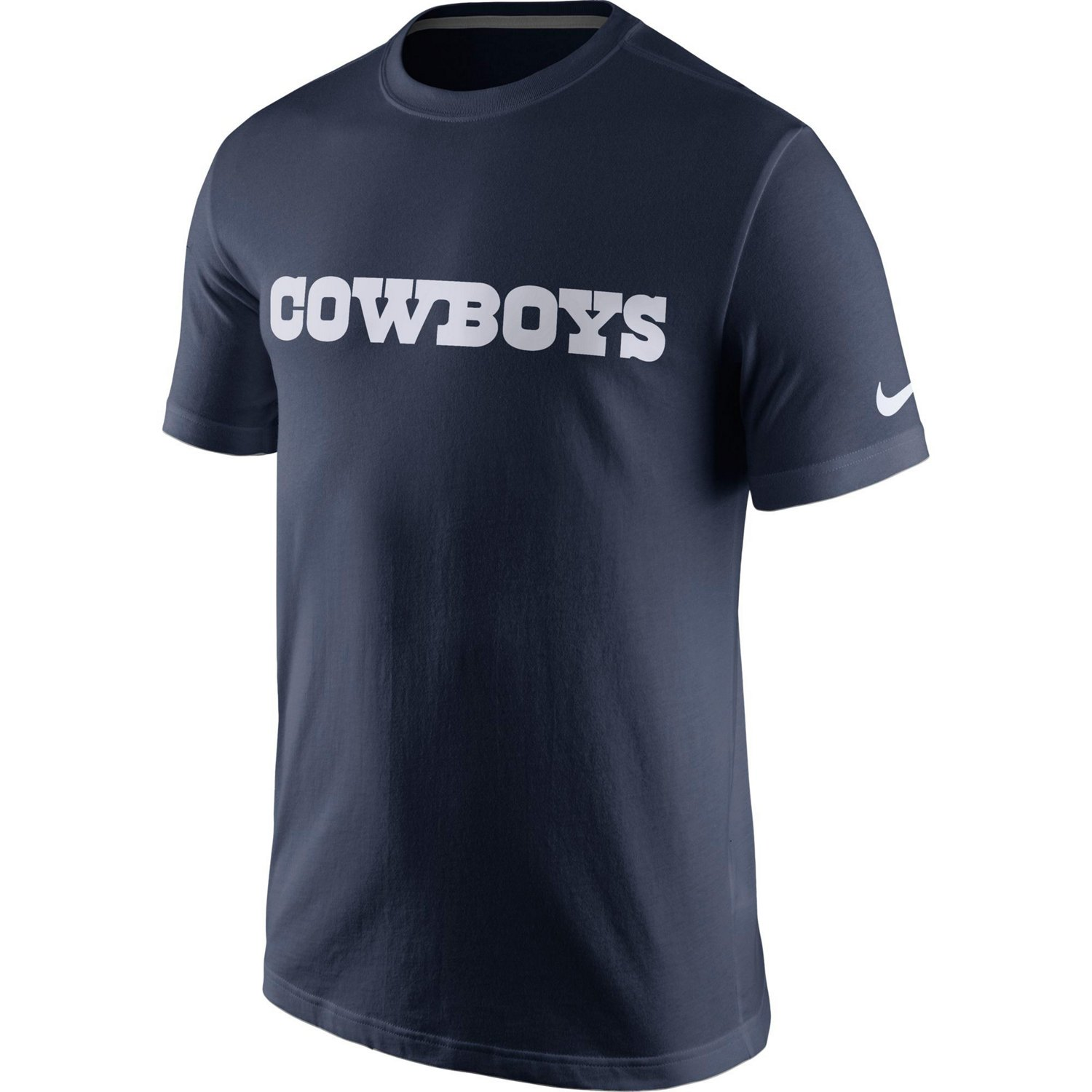 a967ac84b Display product reviews for Nike Men s Dallas Cowboys Essential Wordmark  T-shirt