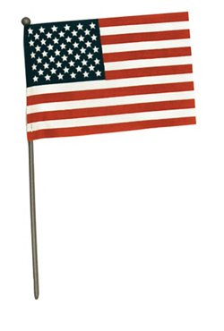 "Independence Flag 4"" x 6"" Handheld American Flag"