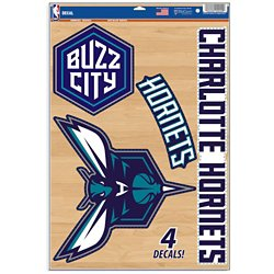 Charlotte Hornets Multiuse Decals 4-Pack