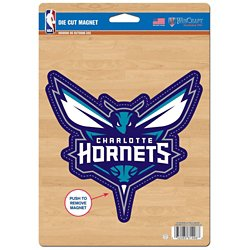 WinCraft Charlotte Hornets Die-Cut Logo Magnet