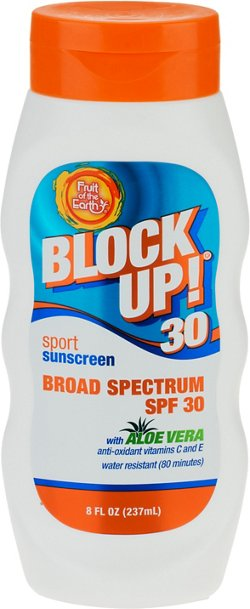 Fruit of the Earth Block Up! Dry Sport SPF 30 Sunscreen