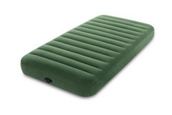 INTEX Dura-Beam Twin-Size Airbed with Battery-Operated Pump