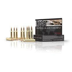 Trophy Grade Varmint .22 Remington Centerfire Rifle Ammunition