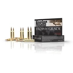 Trophy Grade Long Range Centerfire Rifle Ammunition