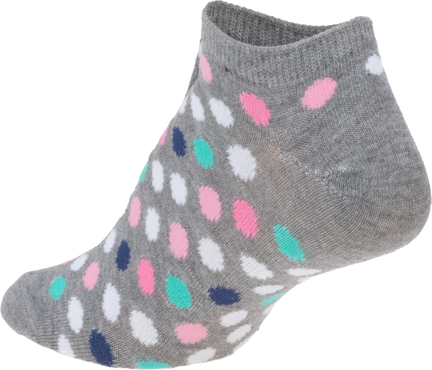 BCG Women's Cushioned No-Show Socks 3 Pack - view number 2