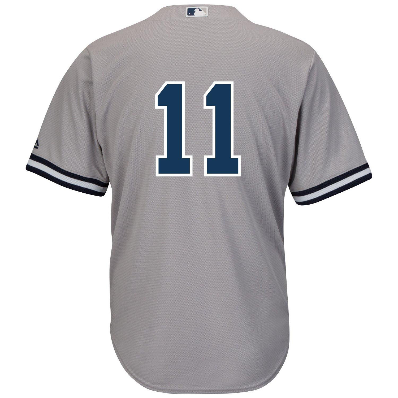 the best attitude 3350e 26230 Majestic Men's New York Yankees Brett Gardner #11 Cool Base® Jersey