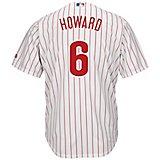 8eecb78d Men's Philadelphia Phillies Ryan Howard #6 Cool Base Replica Jersey